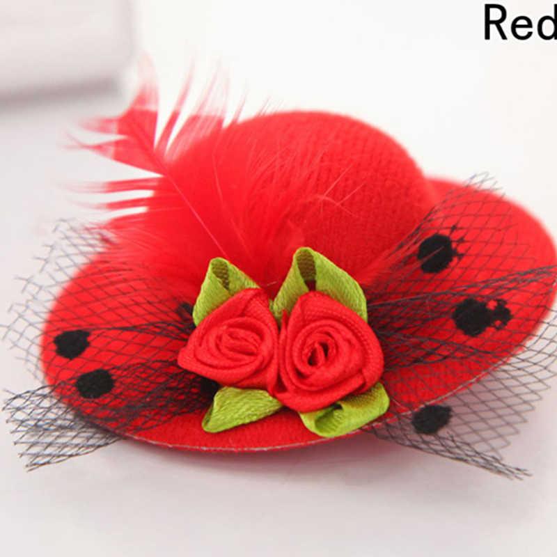 Regalo de Halloween lindo niños chico chica Mini sombrero estilo cabeza Clip fiesta decoración Cosplay traje Accesorios