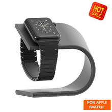 Aluminum Charger Charging Holder Stand Dock Station for Apple Watch 38mm / 42mm for Apple watch Applewatch Cradle Phone Holder crested dock station stand for apple watch 4 3 2 1 iwatch 42mm 38mm aluminum holder charger charging cradle bracket high quality