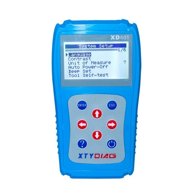 Nieuwste Diagnose Scanner XD601 OBD2 Obdii Eobd Auto Code Reader Gegevens Tester Auto Diagnostische Scanner Code Reader Gegevens Tester Scan