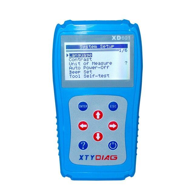 최신 진단 스캐너 XD601 OBD2 OBDII EOBD 자동 코드 리더 데이터 테스터 자동차 진단 스캐너 코드 리더 데이터 테스터 스캔