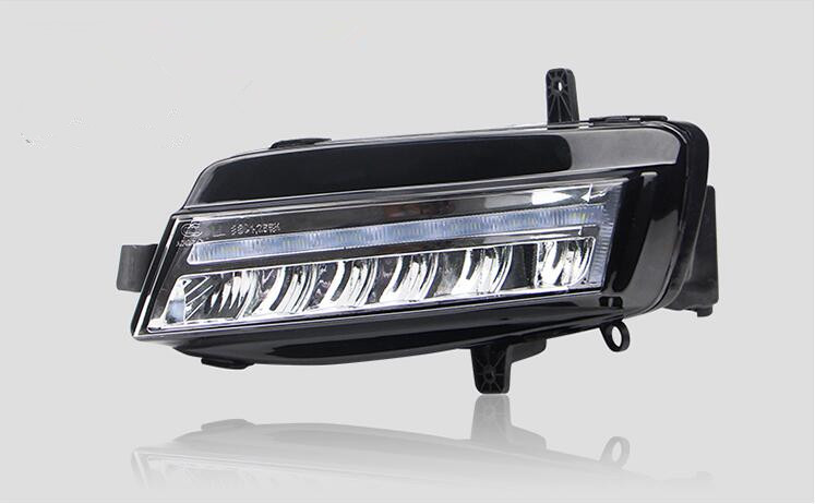 Car Styling 2*LED Daytime Running Light For VW Golf 7 MK7 DRL Fog Lamp Assembly 2013 2014 2015 2016 2x car front side fog light foglamp cover assembly for vw golf 7 golf7 mk7 vii tdi gti tgi tsi 2012 2013 2014 2015 2016 p454