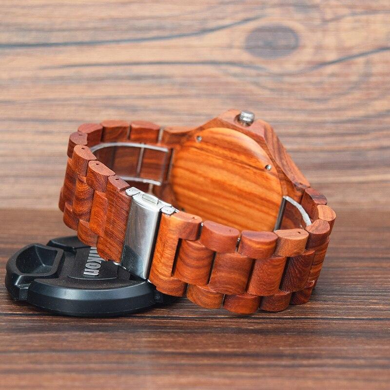 Red Sandalwood Watches Japan Quartz wood watch B17 (7)
