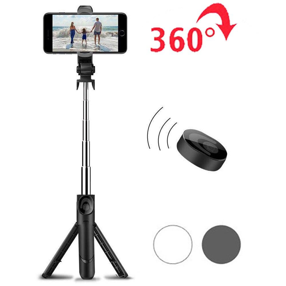 Extendable Wireless Selfie Stick Tripod Bluetooth Selfiestick for Xiaomi Huawei Samsung Smartphone Travel Photo Monopod Support
