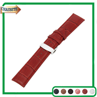 Leather Watch Band For Citizen 14mm 16mm 18mm 20mm 22mm 24mm Men Women Belt Wrist Strap