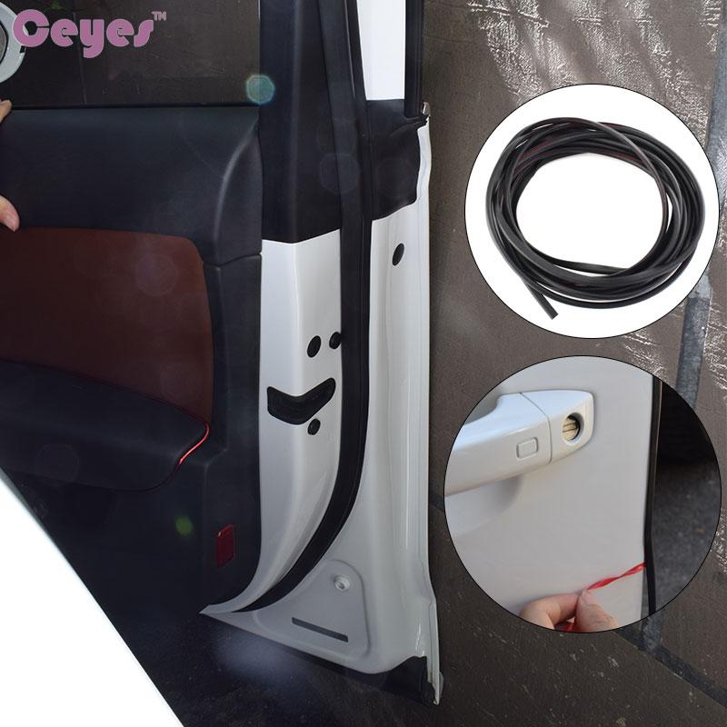 5 M 8 M DIY Auto Voiture-Styling Moulure De Porte Garde Bord Protecteur Cas de Couverture Pour Nissan Nismo En Caoutchouc Protection Autocollants Car Styling