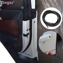 5M 8M DIY Auto Car-Styling Door Moulding Guard Edge Protector Cover Case For Nissan Nismo Rubber Protection Stickers Car Styling