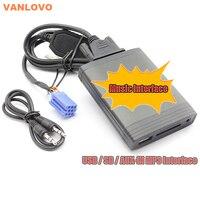 YATOUR Digital Music Changer AUX SD USB MP3 Adaptateur pour Renault Clio Twingo Laguna Megane Évasion Pittoresque Tuner Liste Mise À Jour liste