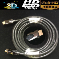 Premium HDMI 1.4V HDMI cable 10M 33ft with Mesh&metal shell Triple-shielded&braided 19+1 conductors 3D&up to 4KX2K