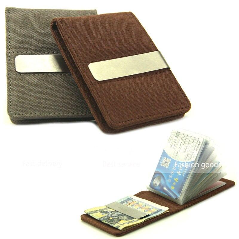 Kartenhalter Slim Bank Credit Card ID Kartenhalter Tasche Brieftasche Inhaber