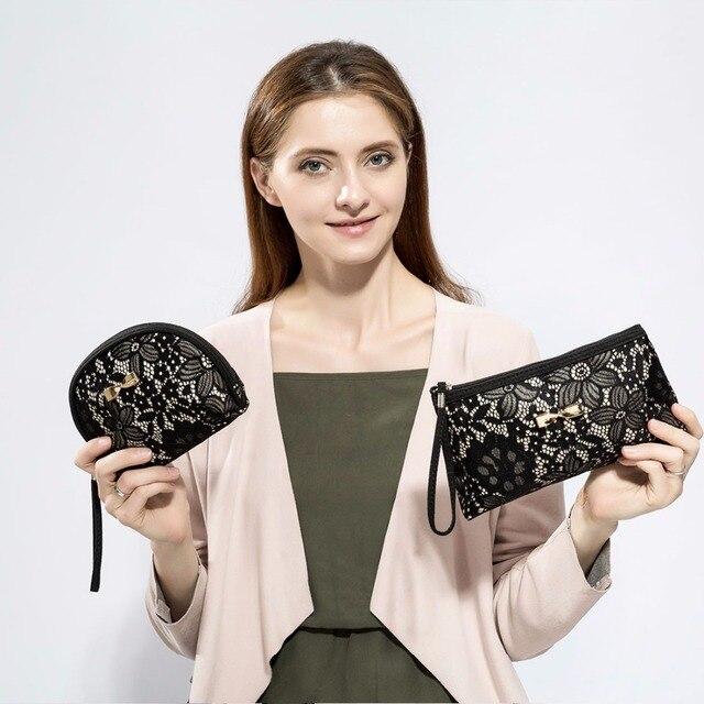 De moda de Miyahouse de bolsas de cosméticos mujeres bolsas de maquillaje de cremallera de las niñas bolsa de cosméticos de viaje de la mujer bolsa, neceser, bolsa de belleza