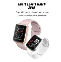 IWO 9 Smart Watch Series 4 44mm GPS Watch Sport Heart Rate Monitor Smartwatch for iOS iPhone Android Phone Apple Watch