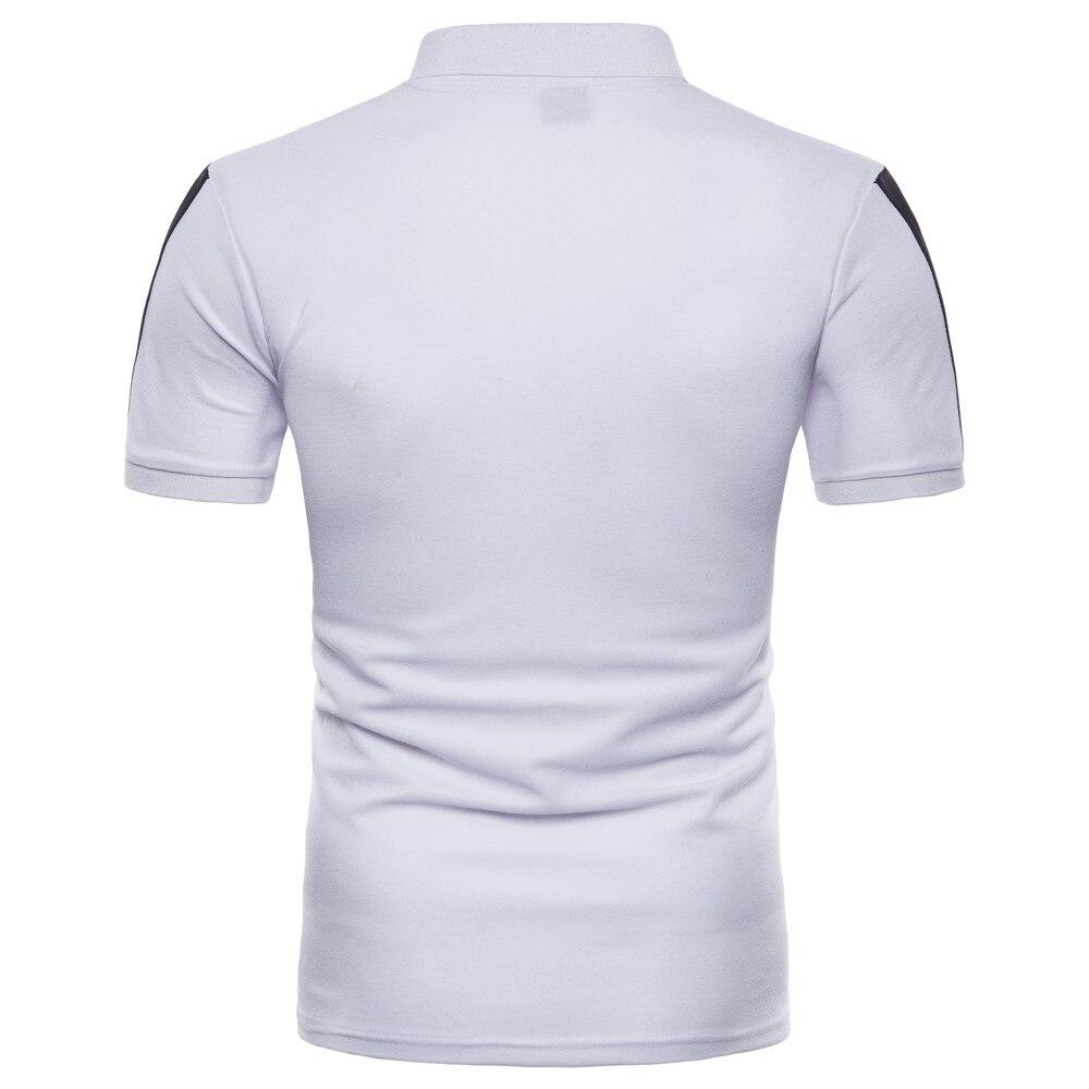 Markyi 2018 New Summer Solid Quality Mens Polo Shirts Eu Size Slim