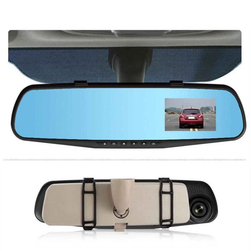 2.7 '' Dashcam Camera 1200Mega USB Car Mirror Cam Recorder Dash cam Car Electronics 32G G-sensor NightVision Car DVRs Cam track