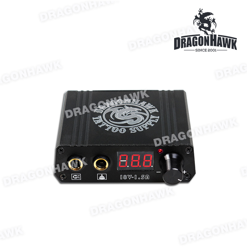 Top Quality Mini Tattoo Power Box LCD Untuk Mesin Tatu Dragonhawk - Seni tatu dan badan - Foto 2