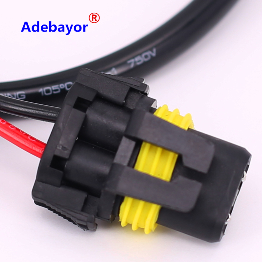 1pcs Lot Free Shipping H11 H8 H9 Wire Harness For Hid Ballast To Wiring Stock Socket Conversion Kit In From Automobiles Motorcycles On