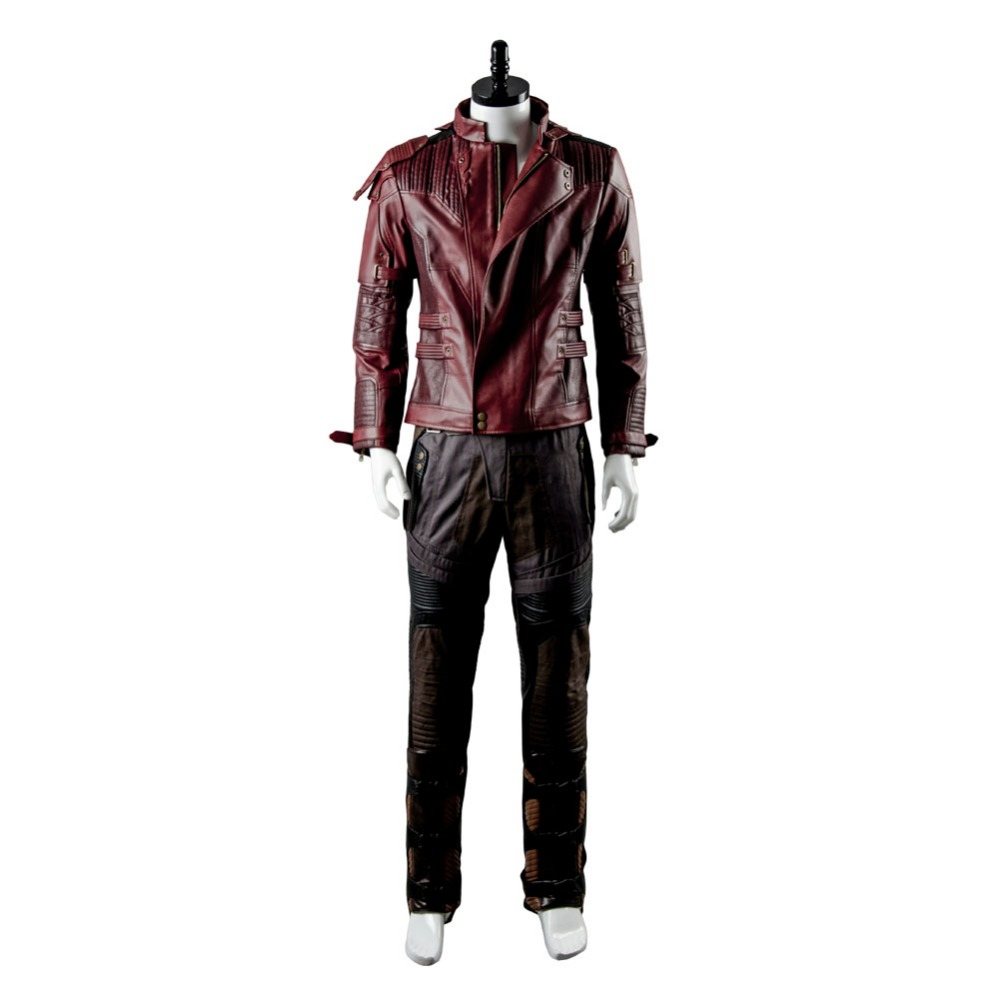 guardians of the galaxy star lord peter jason quill cosplay costume adult men halloween outfit custom made in movie tv costumes from novelty special use