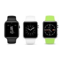 Хорошее LF07 Bluetooth Smart часы 2.5D Arc HD Экран Поддержка sim-карты Носимых устройств SmartWatch волшебная ручка для IOS телефона Android