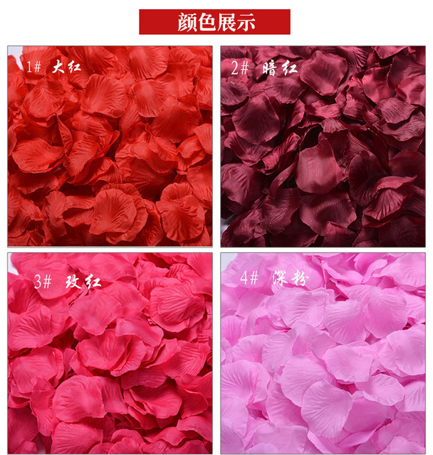 1000pcspack 20 colors silk rose petals artificial flowers petals 1000pcspack 20 colors silk rose petals artificial flowers petals wedding decoration party decoration festival mightylinksfo