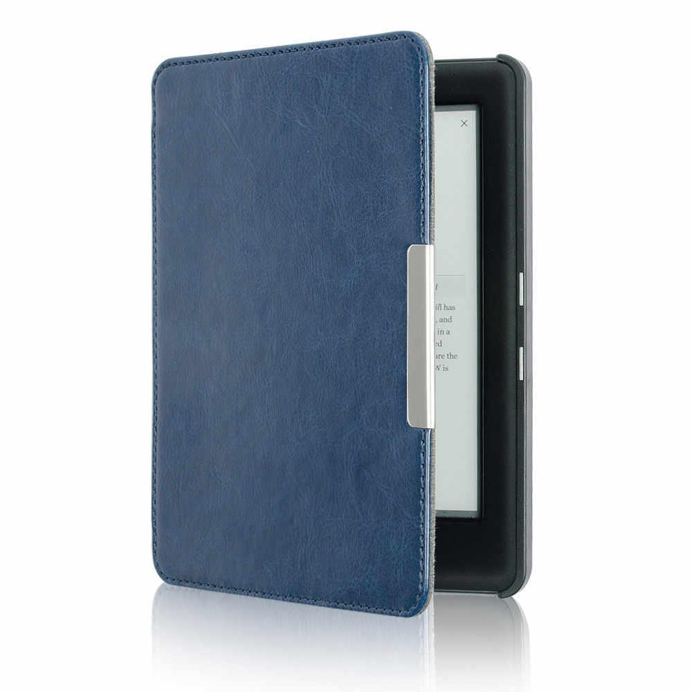 Ouhaobin tablettes e-books étui pour tablette antichoc couverture Kindle pliant Folio étui rigide pour KOBO GLO HD 6.0 pouces magnétique