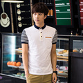 Hot Polo Shirts Men Homme 2016 England Summer Style New Fashion Slim Solid Brand Clothing Polos Plus Size M-4XL Shirts