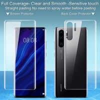 Imak 2 pièces Film Hydrogel transparent 3th Gen pour Huawei P30 Pro 3D protecteur complet pour Huawei P30 Pro protecteur d'écran souple