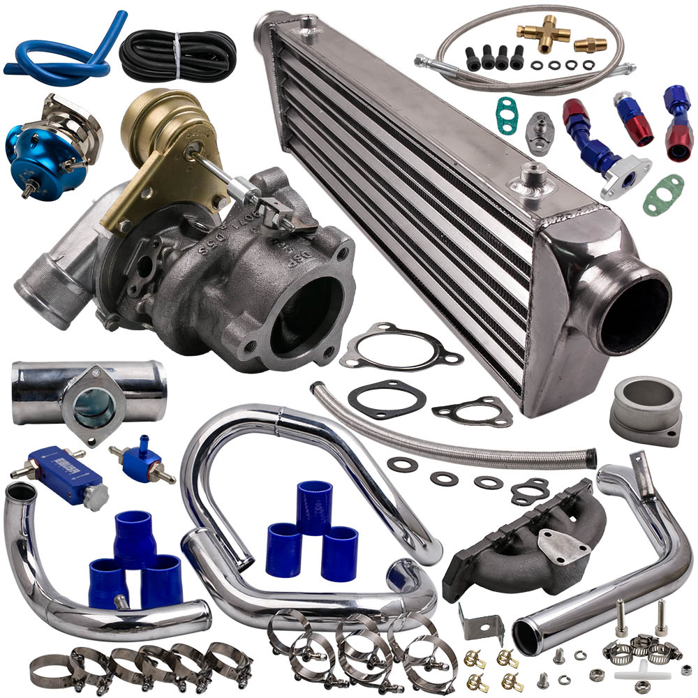 Kit turbo para Audi A4 K04-015 1.8 T VW 1781CC l4 GAS DOHC AEB/ANB intercooler piping manifold sopro Fora Da Válvula 53049880015