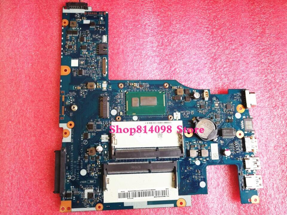 5B20H14390 ACLU3/ACLU4 UMA NM-A362 For Lenovo G50-80 Laptop Motherboard with 3805U CPU 5b20h14390 aclu3 aclu4 uma nm a362 for lenovo g50 80 laptop motherboard with 3805u cpu