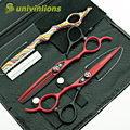 """univinlions 6"""" left handed scissors for left handed hairdressing scissors left handed barber scissors hair cutting shears lefty"""