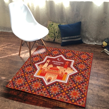 הרמדאן סגנון שטיחים באזור גיאומטרי פרחי דפוס Tapete סלון חדר שינה מסדרון גדול שטיחים ילדים חדר החלקה רצפת מחצלות