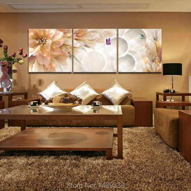 Https Www Aliexpress Com Store Product 3 Panel Flower Home Decoration Living Room Wall Painting Hd Wall Art Picture On Canvas Prints 1489338 32374762139 Html