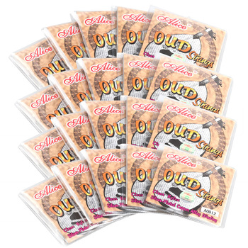 Wholesale 20 sets Alice OUD Guitar strings AOD-12 Clean Nylon Silver-plated Copper Alloy Wound New 380 A alice aod 017cp