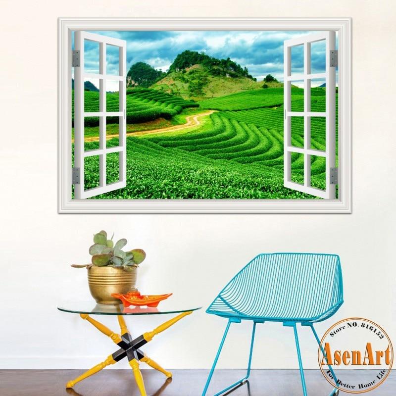 Beautiful garden wallpapers reviews online shopping for Vinyl window designs ltd complaints