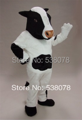 Professional Custom Black u0026 White Cow Mascot Costume Cartoon Character Mascotte Outfit Suit Fancy Dress Cosply & Professional Custom Black u0026 White Cow Mascot Costume Cartoon ...