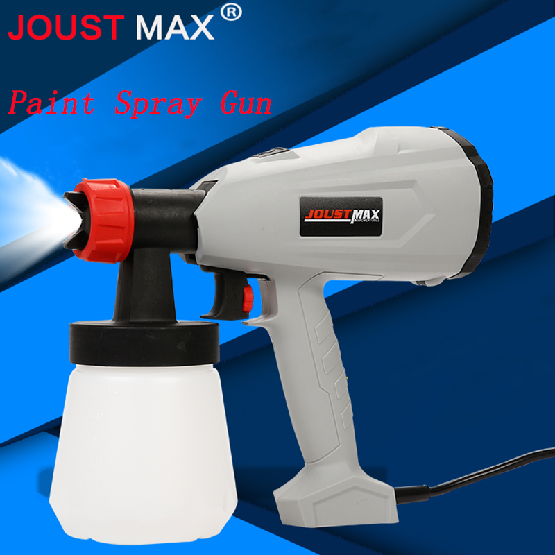 600W Electric Spray Gun Paint Spray Gun 800ml DIY Electric Spray Gun HVLP Sprayer Control Spray Power Paint Sprayers hd 2 hvlp devilbiss spray gun gravity feed for all auto paint topcoat and touch up with 600cc plastic paint cup