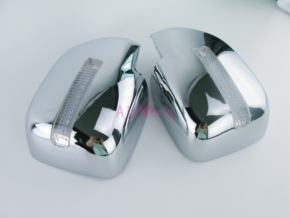 Accessories For Toyota Land Cruiser 100 LC100 Lexus LX470 1998 2007 Door Mirror Cover Overlay With