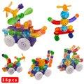 2016 Brand New Строительства Трубы Блоки Пластиковые Магнитный Конструктор Enlighten Bricks 3D DIY Обучающие Дети Детские Игрушки