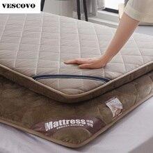 厚さマットレストッパーベッドマットレス通気性マットレスパッド畳用マットレスプロテクター
