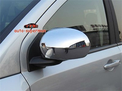 <font><b>Chrome</b></font> side mirror cover for <font><b>Jeep</b></font> <font><b>Compass</b></font> 2007-2011 <font><b>2012</b></font> image