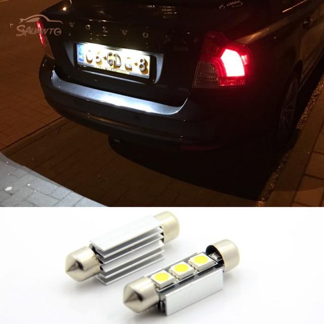 Pcs Canbus Led License Plate Light For Volvo S V V C C S Xc Jpg X on Volvo C70 License Plate Light