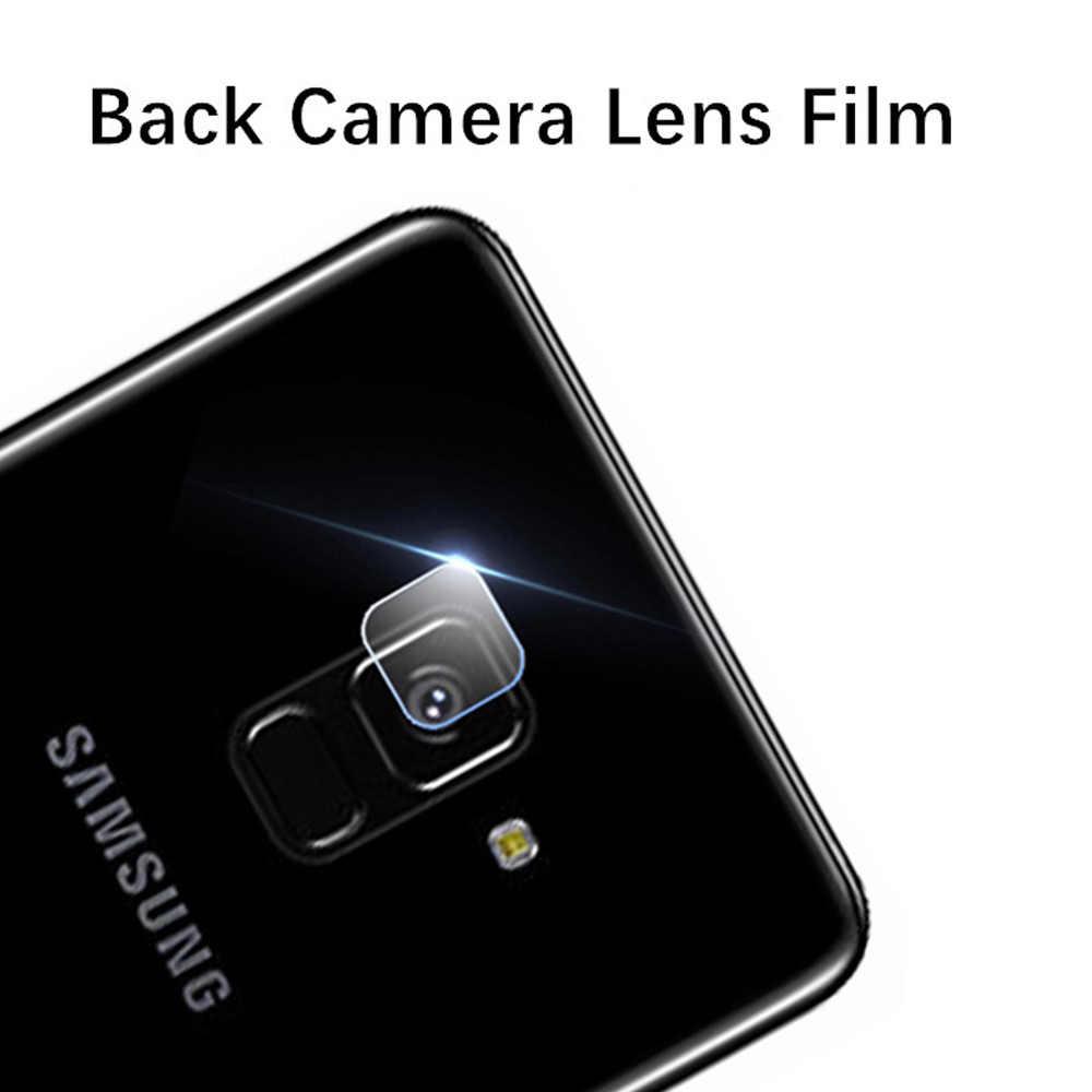 2 で 1 カメラレンズ保護三星銀河 J6 プラス強化ガラス J4 プラススクリーンプロテクター j6Plus J 4 6