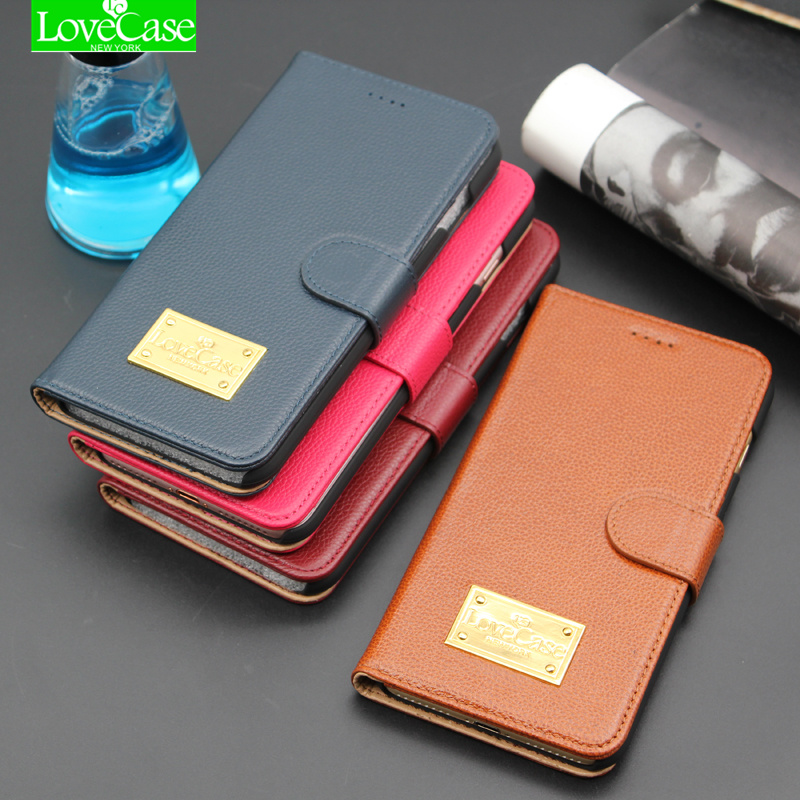 LoceCase Wallet Flip Cover Case for iPhone 8 8 Plus 100 Genuine Leather Fashion Phone font