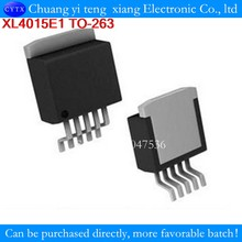 XL4015E1 XL4015 untuk-263-5 Statt XL4005E1 1 Pcs 5A 180KHz 36V Buck DC To DC converter(China)