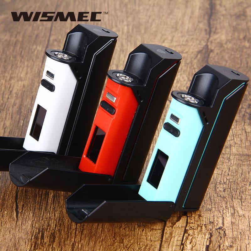 75 W Original WISMEC Reuleaux RX75 TC MOD Fit Amor Mini réservoir Wismec RX 75 inspiré de VWT420 TC Mode de contrôle 18650 boîte Mod