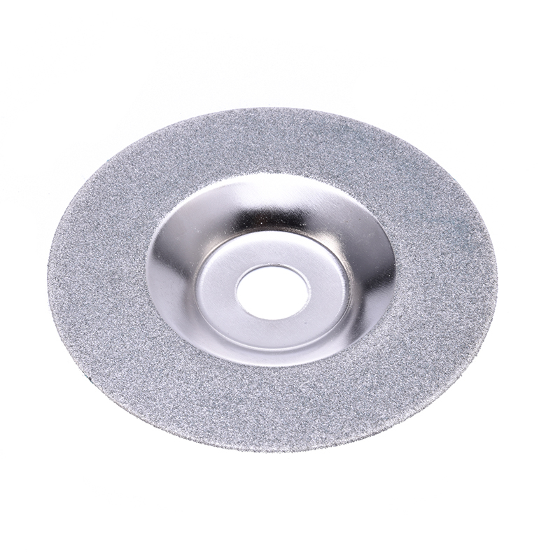 PW TOOLS 100mm Diamond Grinding Disc Cut Off Discs Wheel Glass Cuttering Saw Blades Rotary Abrasive Tools Gold/Silver