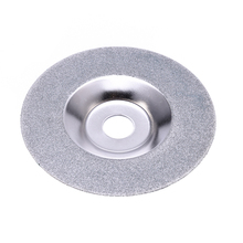 PW TOOLS 100mm Diamond Grinding Disc Cut Off Discs Wheel Glass Cuttering Saw Blades Rotary Abrasive Tools Gold/Silver(China)