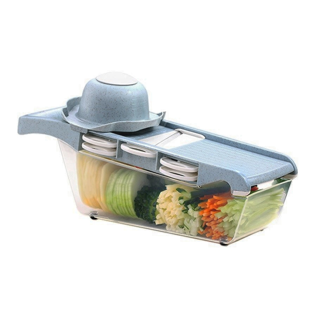 RISAM Gadgets de cuisine multi-fonction hachoir à légumes trancheuse coupe-pommes de terre