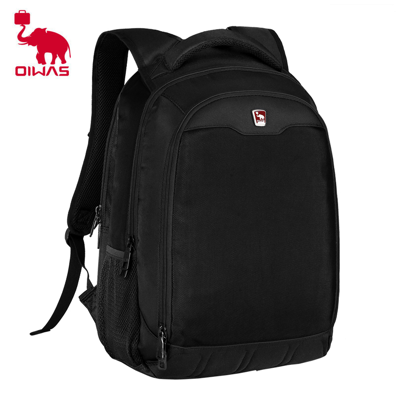 Oiwas Multifunctional Waterproof Unisex Backpack Ergonomic S-shape Back Care Design With Separate Computer Compartment цена и фото