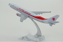 1:400 plane model A330 Algeria Airlines aircraft  A330Metal simulation airplane model for kid toys Christmas gift