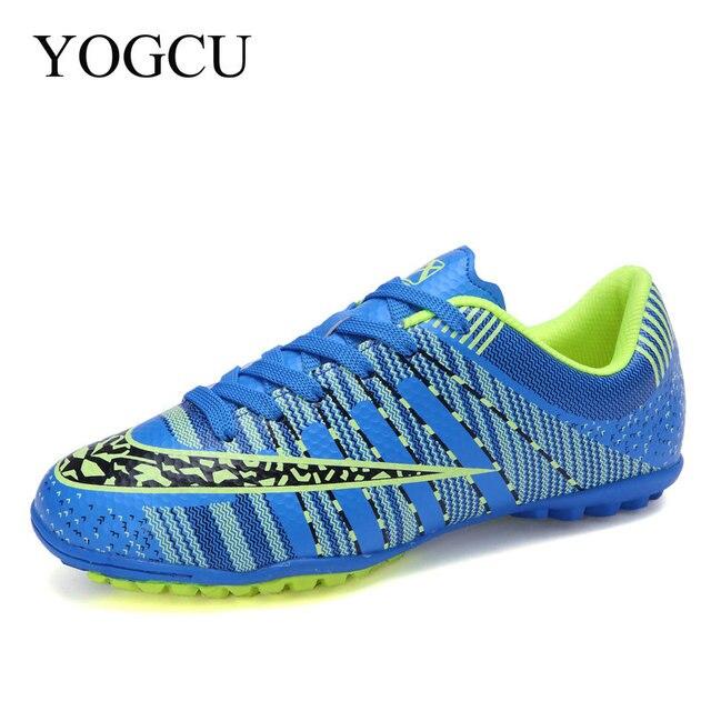 YOGCU Chuteiras Homens Crianças Vaias Superfly Chuteiras Sapatos De Futsal  Chuteira Superfly Futebol Sapatos de Futebol d19257448e8a6