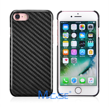 Mcase 0.7mm Ultra Thin 100% Real Carbon Fiber Case Cover For iPhone 7,For iPhone 7 Plus (Free 9H screen protector)